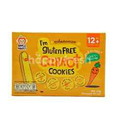 APPLE MONKEY Gluten Free Cookies - Carrot (60g)