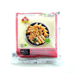 KG Pastry 50 Sheets Plain Spring Roll Pastry