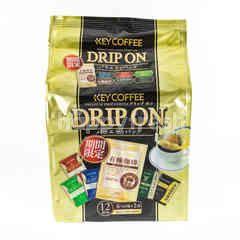 Key Coffee Drip On Coffee