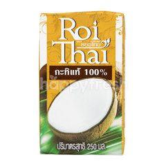 รอยไทย กะทิแท้ 100%