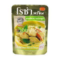 โรซ่า แกงเขียวหวานปลาทูน่า