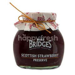 Mrs Bridges Scottish Strawberry Preserve Jam