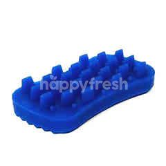 Trustie Pet Rubber Massage Brush (Blue)
