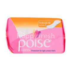 POISE Regular Liner 16.5cm Sanitary Pads
