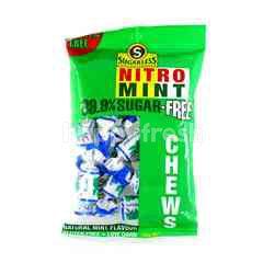 SUGARLESS CONFECTIONERY Nitro Mint 99.9% Sugar Free Chews