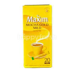 Maxim Mocha Gold Mild Coffee Mix Powder