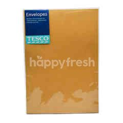 "Tesco 12""X9"" Manila Envelope (10 Pieces)"