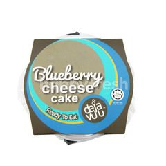 Deja Vuu Blueberry Cheese Cake