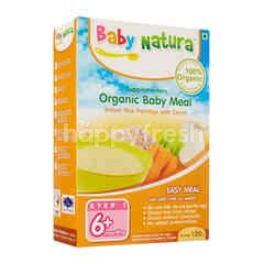 Baby Natura Organic Brown Rice Porridge - Carrot (120g)