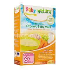 Baby Natura Organic Brown Rice Porridge - Carrot (120g)