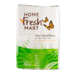 Home Fresh Mart Core Roll Tissues 20 Rolls