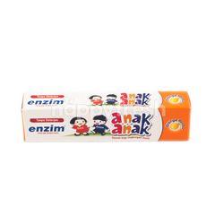 Enzim Kids Toothpaste with Orange Flavor