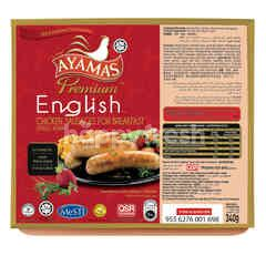Ayamas Premium English Chicken Sausages For Breakfast