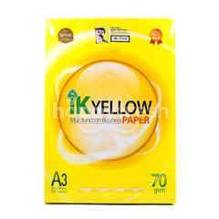 IK YELLOW White A3 Multifunction Business Paper (450 Sheets)