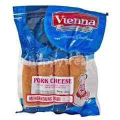 Vienna Pork Cheese Sausage