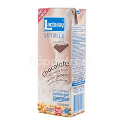 Lactasoy Chocolate Flavored UHT Soymilk