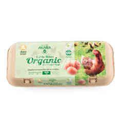 Akara Organic Eggs 10 Pcs