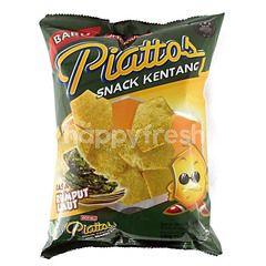 Piattos  Potato Snack Seaweed
