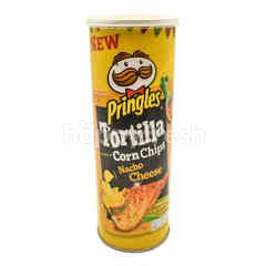 Pringles Nacho Cheese Tortilla Corn Chips