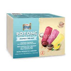 King's Potong Assorted Flavoured Ice Cream (8 Pieces)
