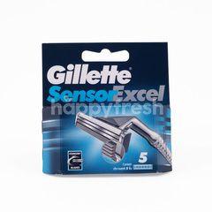 Gillette Sensor Excel 5 Cartridge Razor