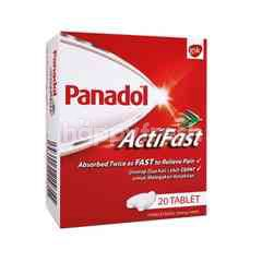 GSK Actifast Panadol (20 Tablets)