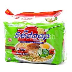 Wings Food Mi Sedaap Soto Flavoured Soup Instant Noodles (5 Packets)