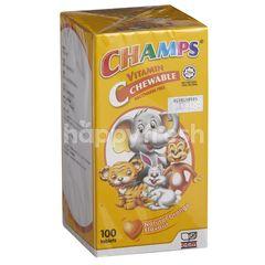 Champs Vitamin C Chewable - Orange