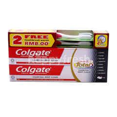 Colgate Charcoal Deep Clean Toothpaste (2 Pieces)