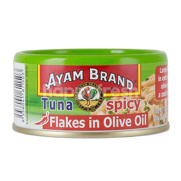 Ayam Brand Light Chunks Tuna In Olive Oil