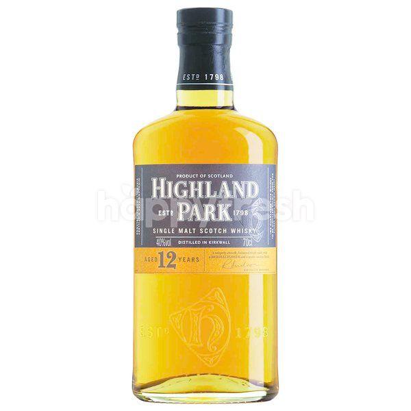 Highland Highland Park Single Malt Scotch Whisky Aged 12 Years