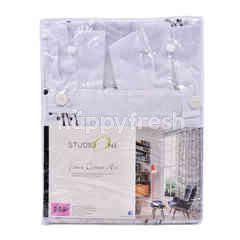Studio One Faux Cotton Art Curtain
