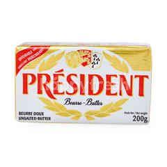 President Unsalted Butter