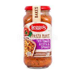 Leggo's Saus Pasta Tomat, Keju Ricotta & Bayam