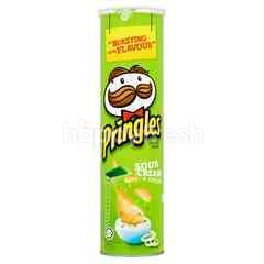 Pringles Potato Crips Sour Cream