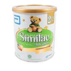Similac Advance 2 Susu Formula Lanjutan Untuk Bayi Usia 6-12 Bulan 400g