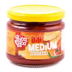 Poco Loco Saus Cocolan Mexicana Pedas Sedang