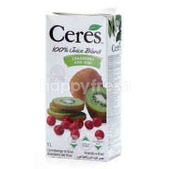 Ceres Cranberry And Kiwi 100% Juice Blend
