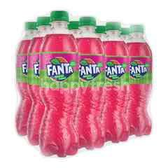 Fanta Rasa Strawberry 390ml 12 Pack