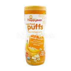 Organics Happy Baby Superfood Puffs Veggie, Fruit & Grain Puffs (Banana Pumpkin)