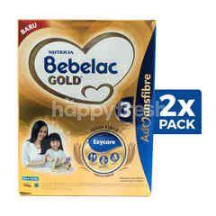 Nutricia Bebelac Gold 3 Baby Milk Vanilla 1-5 Years Twinpack