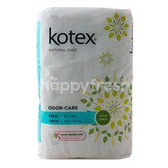 Kotex Odor-Care Maxi Non-Wing Betel Leaves
