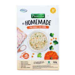 Promina Ala Home Made Makanan Bayi dengan Ayam, Brokoli & Labu Kuning