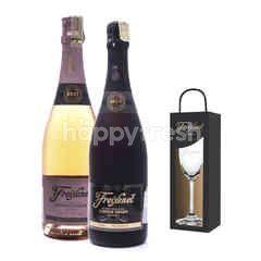 Freixenet Cardon Negro + Cordon Rosado Get Riedel Flute Glass Free