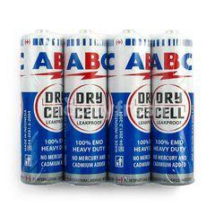 ABC R6 Blue Battery