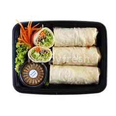 Soba Tofu Wrap