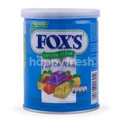 Fox's Permen Kristal Rasa Mint dengan Aneka Buah