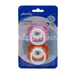 Anakku Orthodontic Soothers Pack (2 Pieces)