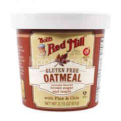 บ๊อบส์ เร้ด มิลล์ โอ๊ตมีล ชนิดถ้วย ผสมน้ำตาลทรายแดงและเมเปิ้ล ปราศจากกลูเตน