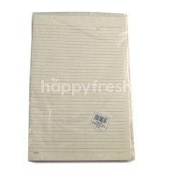 Kiky Double Folio Paper (10 sheets)